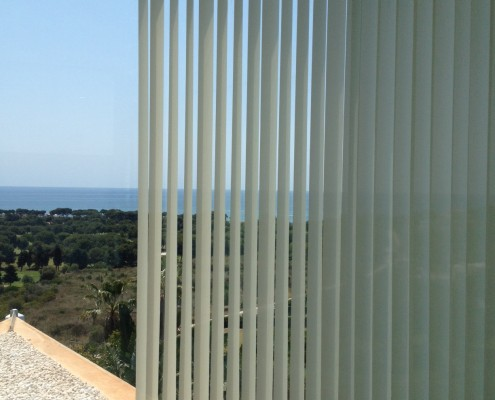 Cortina lamas verticales en screen - Casa - Torre en Sitges