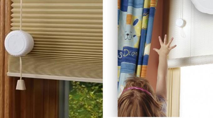 Medidas de seguridad en las cortinas de cordones