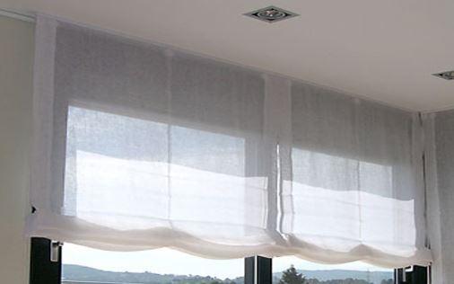 Estores paqueto ventajas y tejidos pujadas i marti for Cortinas de visillo para salon