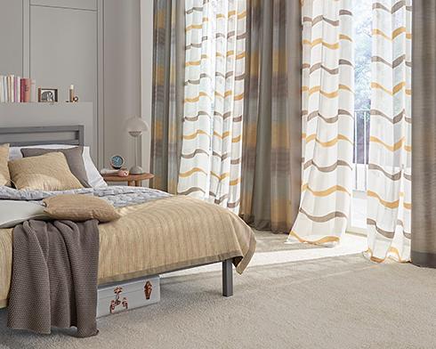 Tips ara combinar la ropa de cama con las cortinas