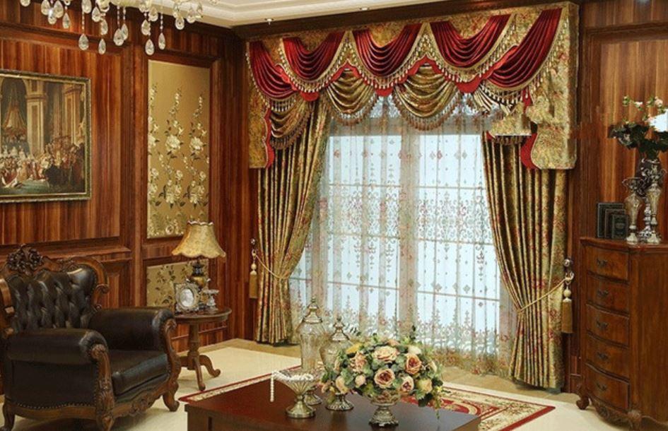 las cortinas en la historia