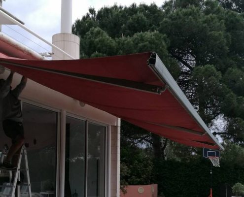 Proyecto casa del barrio de Sarria-Sant Gervasi en Barcelona.