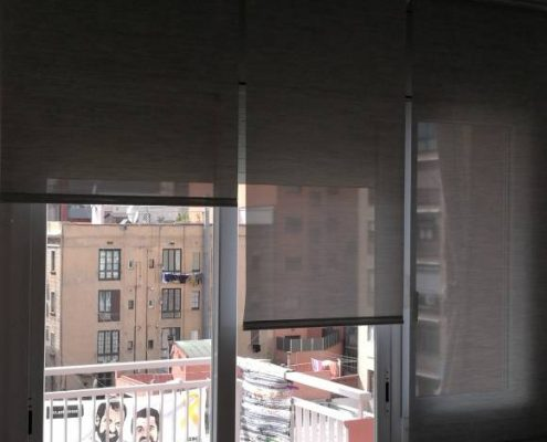 Proyecto cortinas muy transparentes