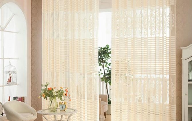 netejar les cortines